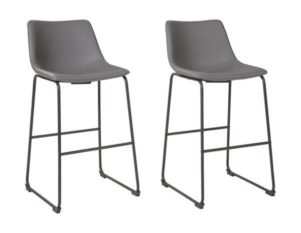 Centiar - Gray - Tall UPH Barstool (2/CN) 1