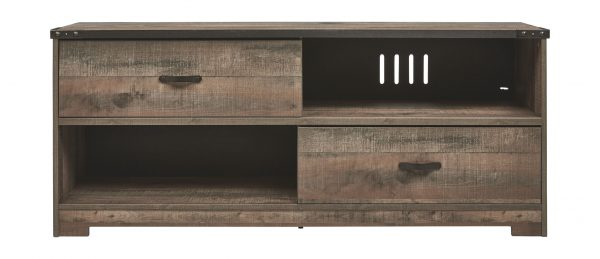 Trinell - Brown - Large TV Stand 1