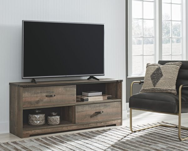 Trinell - Brown - Large TV Stand