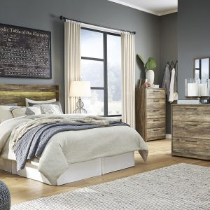 Rusthaven - Brown - Bedroom Set