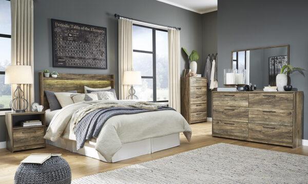 Rusthaven - Brown - Bedroom Set