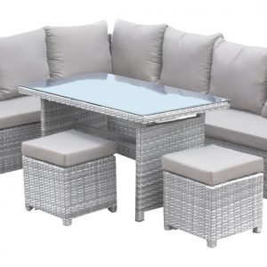 Santorini 5 pc Sectional Dining Set